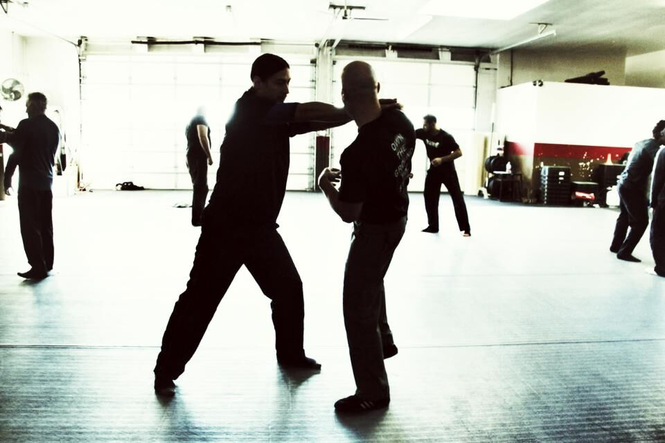 combative striking the whip strike